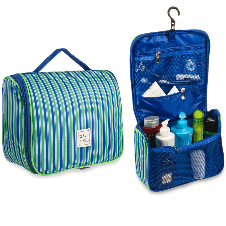 Blue Green Toiletry Bag